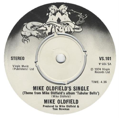 "Mike Oldfield Mike Oldfield's Single 7"" vinyl single (7 inch record) UK OLD07MI319739"