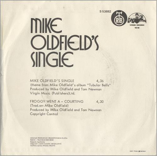 Mike oldfield singles