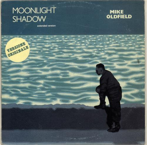 """Mike Oldfield Moonlight Shadow (Extended Version) 12"""" vinyl single (12 inch record / Maxi-single) Italian OLD12MO699240"""