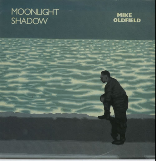 "Mike Oldfield Moonlight Shadow + Sleeve 7"" vinyl single (7 inch record) UK OLD07MO30346"