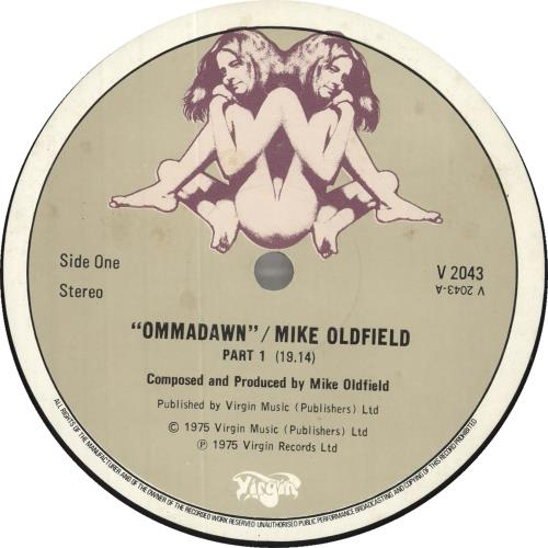 Mike Oldfield Ommadawn - 1st - EX vinyl LP album (LP record) UK OLDLPOM569351
