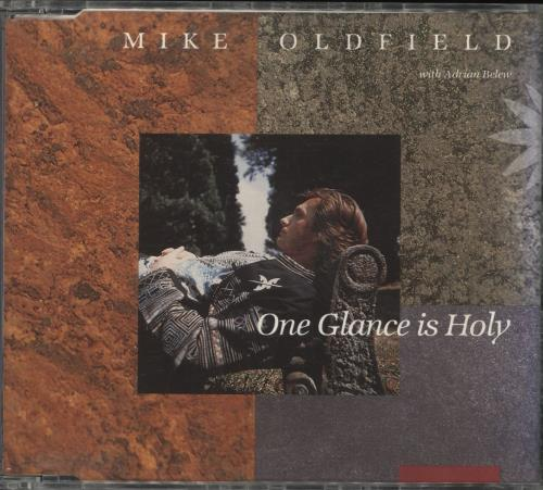 """Mike Oldfield One Glance Is Holy CD single (CD5 / 5"""") German OLDC5ON110145"""