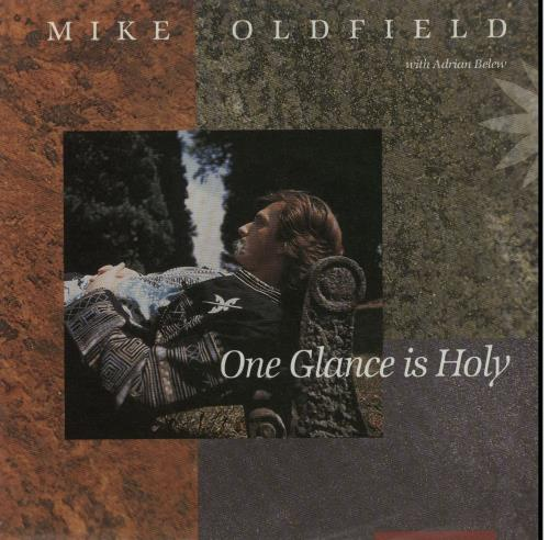 """Mike Oldfield One Glance Is Holy 7"""" vinyl single (7 inch record) German OLD07ON20125"""