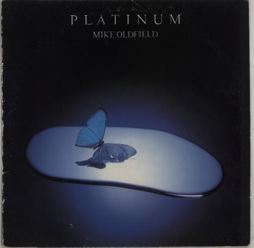 Mike Oldfield Platinum - Mispressed label & sleeve vinyl LP album (LP record) UK OLDLPPL286962