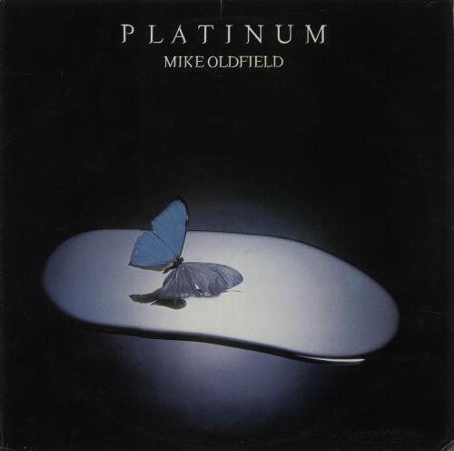 Mike Oldfield Platinum vinyl LP album (LP record) Portugese OLDLPPL673840