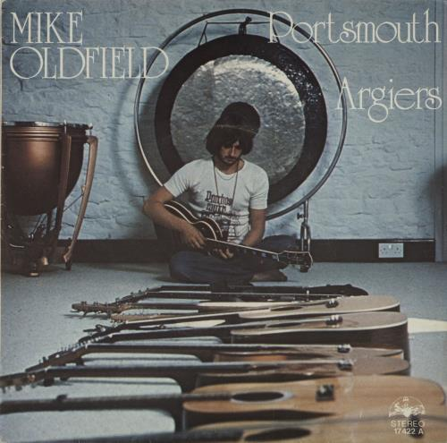 """Mike Oldfield Portsmouth 7"""" vinyl single (7 inch record) Spanish OLD07PO662517"""
