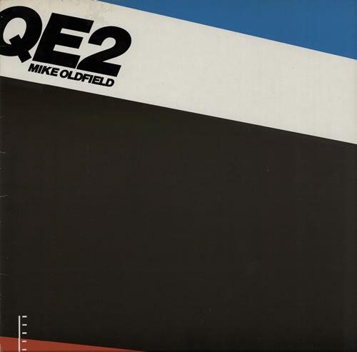Mike Oldfield QE2 vinyl LP album (LP record) German OLDLPQE564988