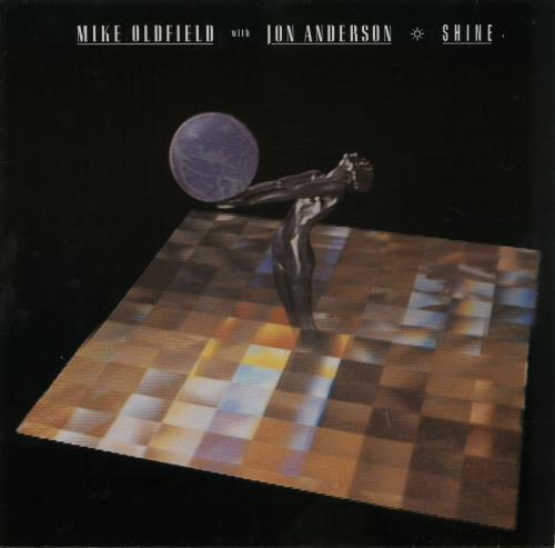 "Mike Oldfield Shine 12"" vinyl single (12 inch record / Maxi-single) German OLD12SH142493"