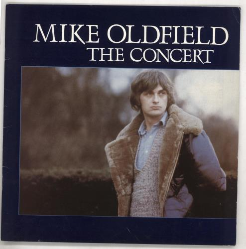 Mike Oldfield The Concert tour programme UK OLDTRTH329100