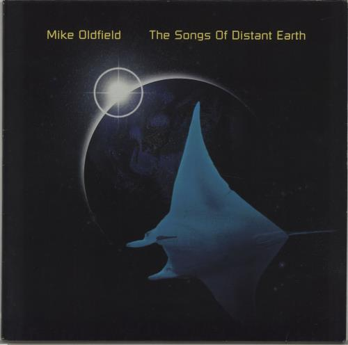 Mike Oldfield The Songs Of Distant Earth vinyl LP album (LP record) German OLDLPTH198061