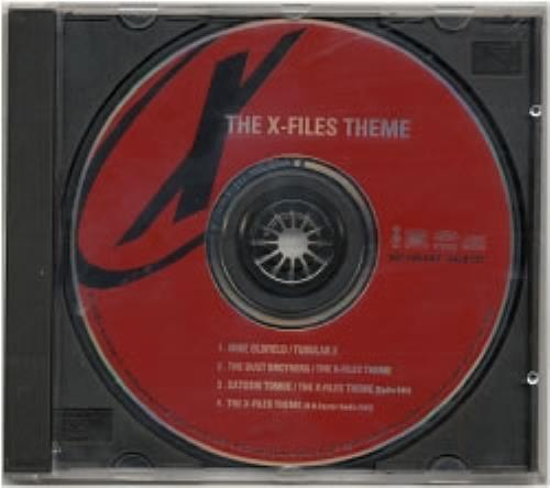 Mike Oldfield The X Files Theme Japanese Promo Cd Single