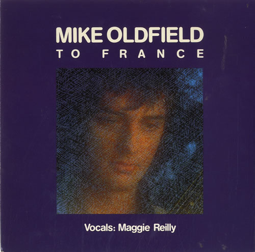 """Mike Oldfield To France 7"""" vinyl single (7 inch record) UK OLD07TO19805"""