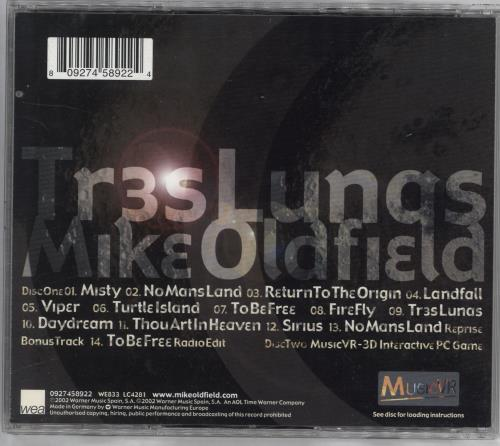 Mike Oldfield Tres Lunas 2 CD album set (Double CD) UK OLD2CTR216751