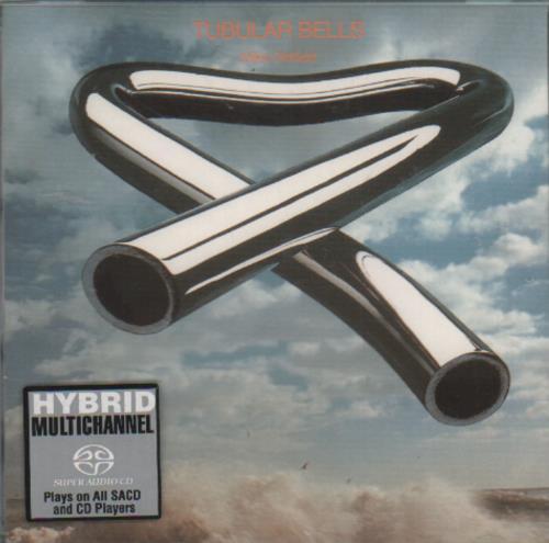 Mike Oldfield Tubular Bells super audio CD SACD UK OLDSATU176510