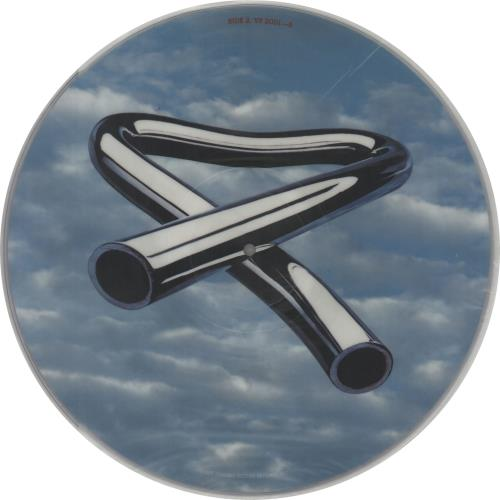 Mike Oldfield Tubular Bells picture disc LP (vinyl picture disc album) UK OLDPDTU17961