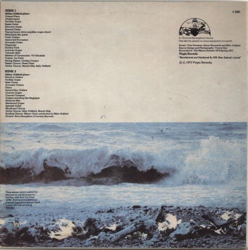 Mike Oldfield Tubular Bells vinyl LP album (LP record) New Zealand OLDLPTU695694