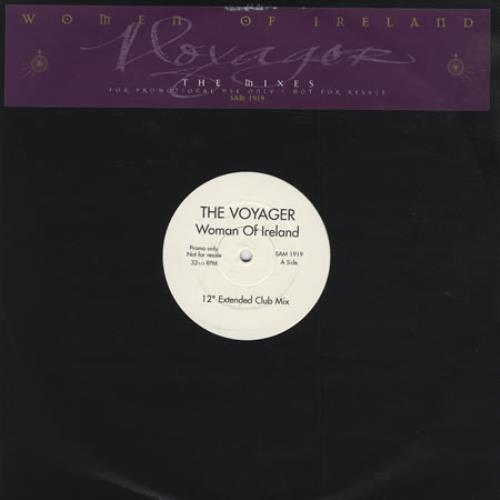 """Mike Oldfield Woman Of Ireland 12"""" vinyl single (12 inch record / Maxi-single) UK OLD12WO74356"""