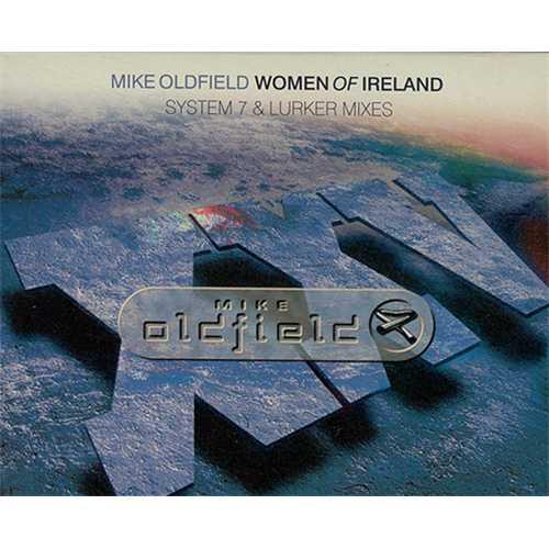Mike Oldfield Women Of Ireland 2-CD single set (Double CD single) UK OLD2SWO177784