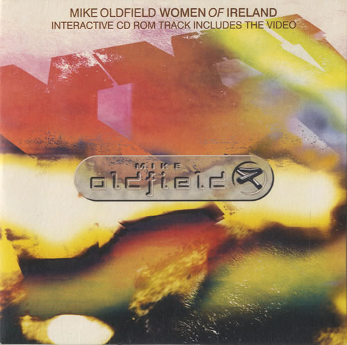"Mike Oldfield Women Of Ireland CD single (CD5 / 5"") UK OLDC5WO97970"