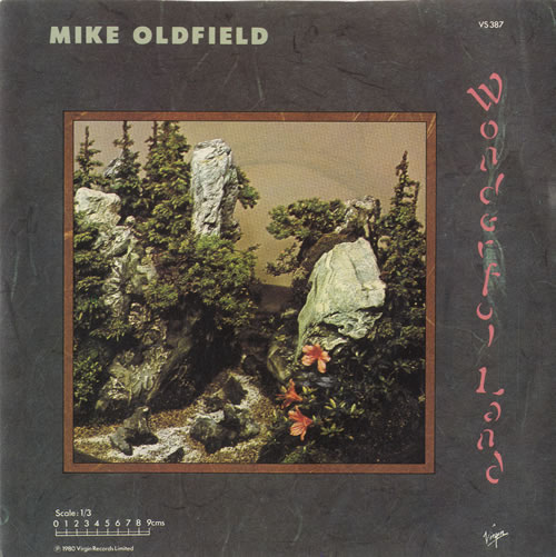 "Mike Oldfield Wonderful Land 7"" vinyl single (7 inch record) UK OLD07WO25206"