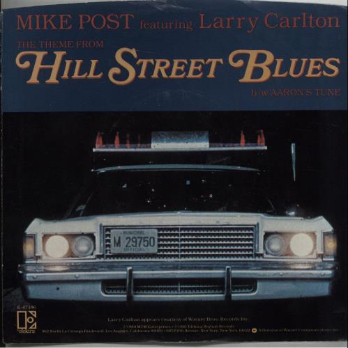 Mike Post The Theme From Hill Street Blues - P/S US 7