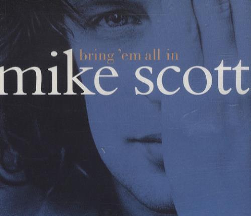 "Mike Scott Bring 'Em All In CD single (CD5 / 5"") UK MSCC5BR175170"