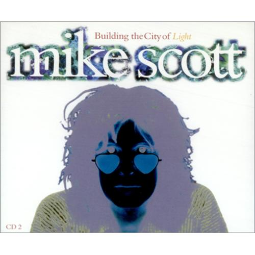 Mike Scott Building The City Of Light - CD1 & 2 2-CD single set (Double CD single) UK MSC2SBU209320