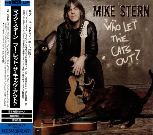 Mike Stern Who Let The Cats Out? CD album (CDLP) Japanese NY4CDWH691427