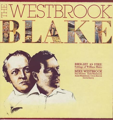 Mike Westbrook Bright As Fire - Autographed! vinyl LP album (LP record) UK WBKLPBR358561