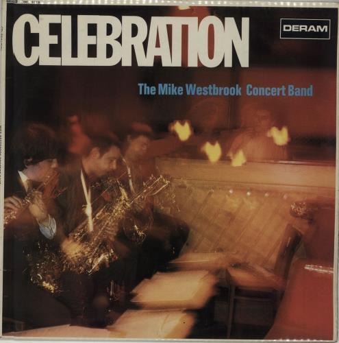 Mike Westbrook Celebration - 1st vinyl LP album (LP record) UK WBKLPCE675251