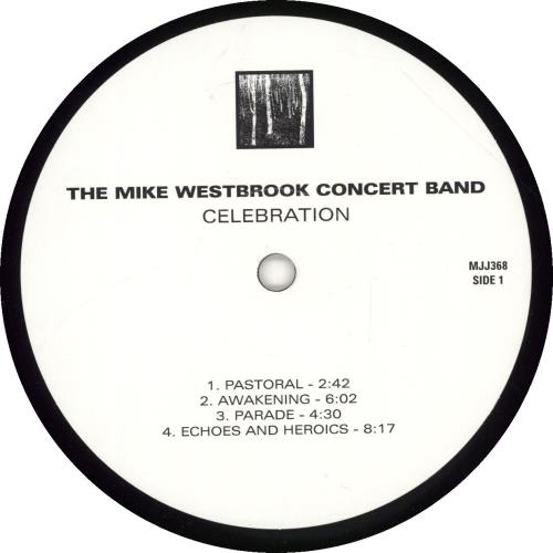 Mike Westbrook Celebration vinyl LP album (LP record) French WBKLPCE681692