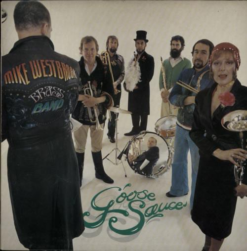 Mike Westbrook Goose Sauce vinyl LP album (LP record) UK WBKLPGO595519