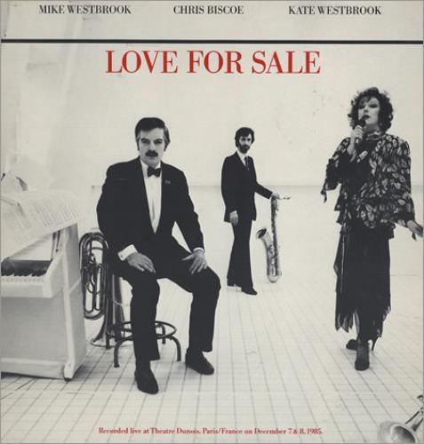 Mike Westbrook Love For Sale 2-LP vinyl record set (Double Album) Swiss WBK2LLO363553