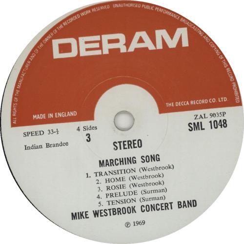 Mike Westbrook Marching Song Vol. 2 vinyl LP album (LP record) UK WBKLPMA675249