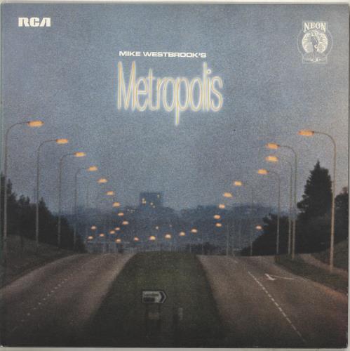 Mike Westbrook Metropolis vinyl LP album (LP record) UK WBKLPME455352