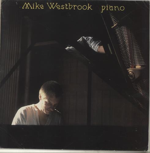 Mike Westbrook Piano vinyl LP album (LP record) UK WBKLPPI703252
