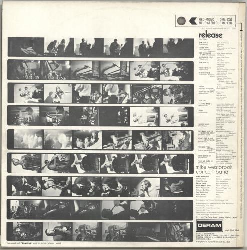 Mike Westbrook Release vinyl LP album (LP record) UK WBKLPRE703249