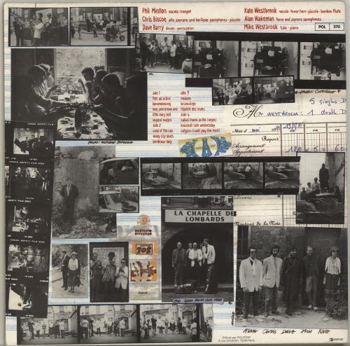 Mike Westbrook The Paris Album (En Concert À La Chapelle Des Lombards) 2-LP vinyl record set (Double Album) French WBK2LTH703259