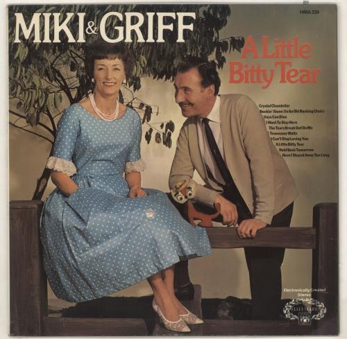 Miki & Griff A Little Bitty Tear vinyl LP album (LP record) UK M+GLPAL735120