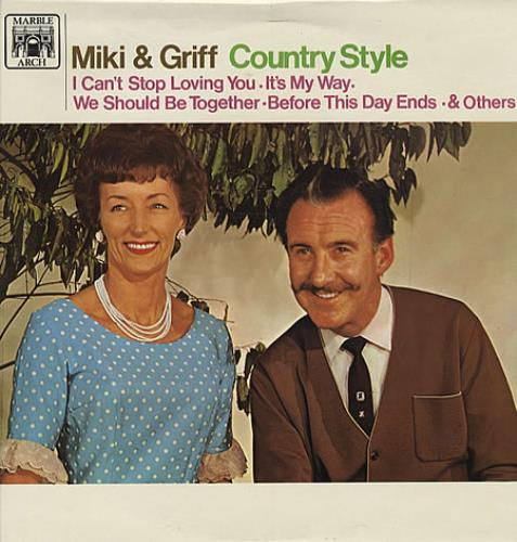 Miki & Griff Country Style vinyl LP album (LP record) UK M+GLPCO329303