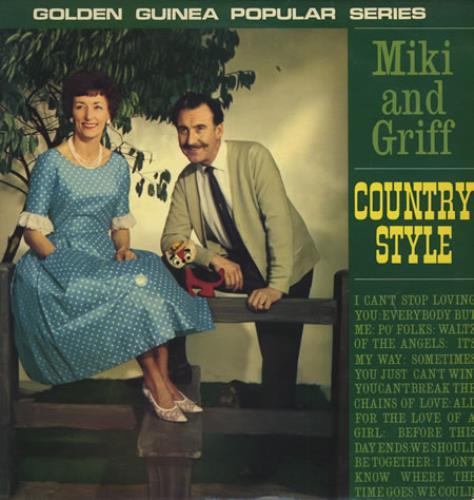 Miki & Griff Country Style vinyl LP album (LP record) UK M+GLPCO394978