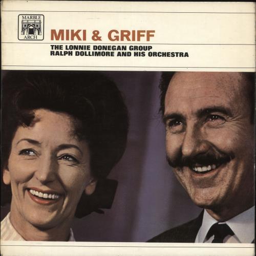 Miki & Griff Miki & Griff vinyl LP album (LP record) UK M+GLPMI710037
