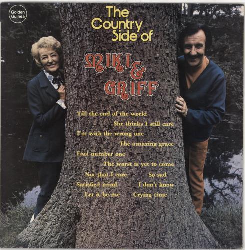 Miki & Griff The Country Side Of Miki & Griff vinyl LP album (LP record) UK M+GLPTH745165
