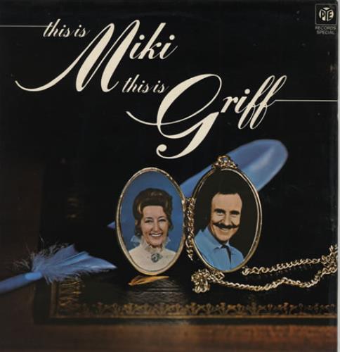 Miki & Griff This Is Miki, This Is Griff vinyl LP album (LP record) UK M+GLPTH394984