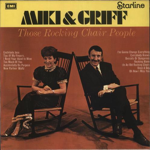 Miki & Griff Those Rocking Chair People vinyl LP album (LP record) UK M+GLPTH731570