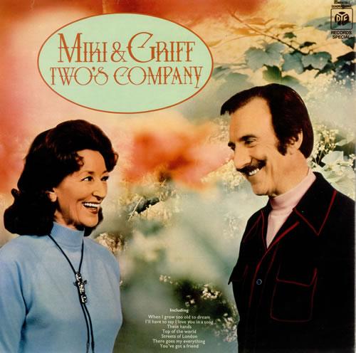 Miki & Griff Two's Company vinyl LP album (LP record) UK M+GLPTW495430