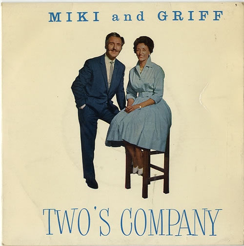 "Miki & Griff Two's Company 7"" vinyl single (7 inch record) UK M+G07TW610221"
