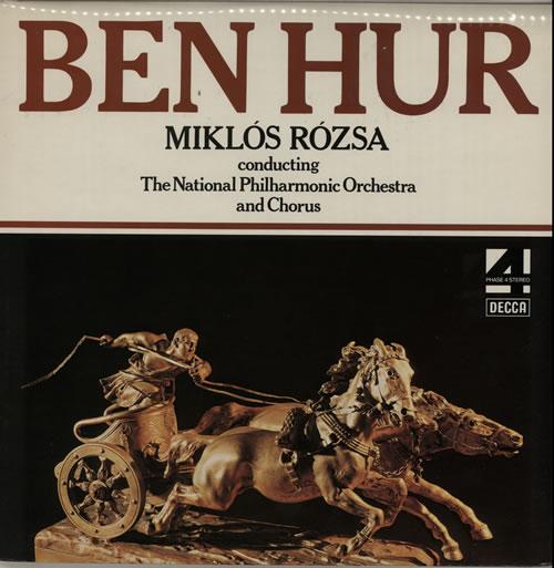 Miklos Rozsa Ben Hur vinyl LP album (LP record) UK RZ1LPBE584172