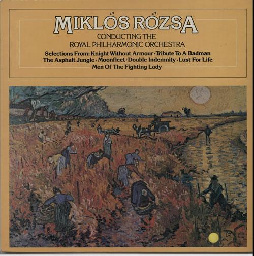 Miklos Rozsa Conducting The Royal Harmonic Orchestra vinyl LP album (LP record) UK RZ1LPCO632368