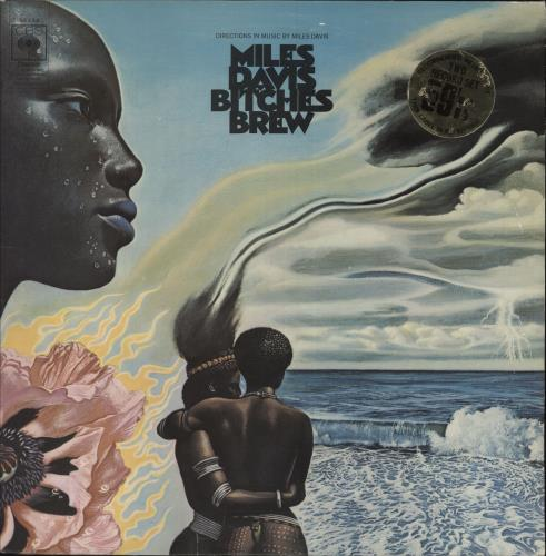 Miles Davis Bitches Brew - 1st - EX 2-LP vinyl record set (Double Album) UK MDA2LBI607054